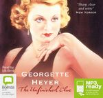 The Unfinished Clue (MP3) - Georgette Heyer