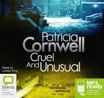 Cruel And Unusual (MP3) - Patricia Cornwell
