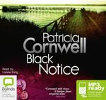 Black Notice (MP3) : Scarpetta #10 - Patricia Cornwell