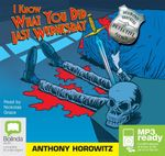 I Know What You Did Last Wednesday (MP3) : Diamond brothers #6 - Anthony Horowitz