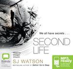 Second Life (MP3) - S.J Watson
