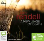 A New Lease Of Death (MP3) - Ruth Rendell