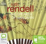 The Speaker Of Mandarin (MP3) : A chief inspector Wexford mystery #12 - Ruth Rendell