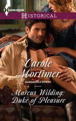 Marcus Wilding : Duke Of Pleasure - Carole Mortimer