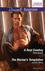 Romantic Suspense Duo/A Real Cowboy/The Marine's Temptation - Carla Cassidy