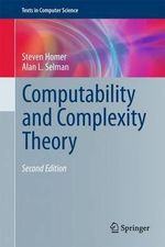 Computability and Complexity Theory - Steven Homer