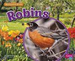Robins : Backyard Birds