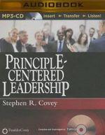 Principle-Centered Leadership - Dr Stephen R Covey