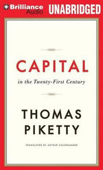 Capital in the Twenty-First Century - Professor Thomas Piketty