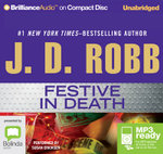 Festive In Death (MP3) - J. D. Robb