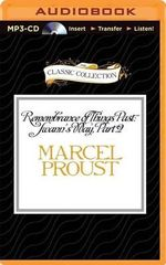 Remembrance of Things Past : Swann's Way, Part 2 - Marcel Proust