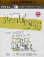 Startup Boards : Getting the Most Out of Your Board of Directors - Brad Feld