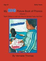 My Big Picture Book of Phonics : Teach Children to Learn and Write the Alphabet Faster Than Ever! - Vernada Thomas