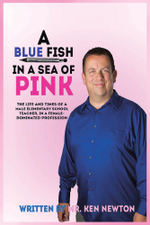 A Blue Fish In A Sea of Pink - Ken Newton