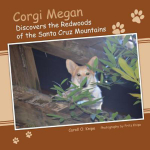 Corgi Megan Discovers the Redwoods of the Santa Cruz Mountains - Caroll O. Knipe