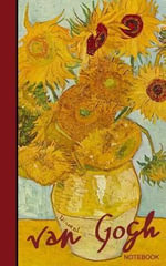 Van Gogh Notebook : Sunflowers and Irises (Cuaderno / Portable) - Smart Books