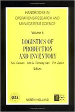 Logistics of Production and Inventory Horm. 4 Handbook in Operations Research and Management Science, Vol. 4 - Unknown Author
