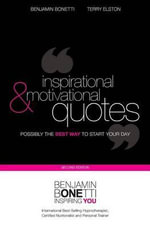Inspirational & Motivational Quotes - MR Benjamin Bonetti