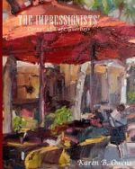 The Impressionists' Corner at Cafe Guerbois - Karen Owens