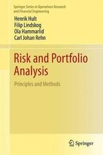 Risk and Portfolio Analysis : Principles and Methods - Henrik Hult