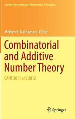 Combinatorial and Additive Number Theory : Cant 2011 and 2012