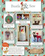 Bustle & Sew Magazine December 2013 : Issue 35 - Helen Dickson