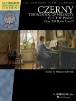 The School of Velocity, Op. 299 - Piano - Book Only - Schirmer Performance Editions