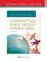 Community and Public Health Nursing - Gail A. Harkness