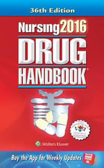 Nursing2016 Drug Handbook Canadian Version - Lippincott