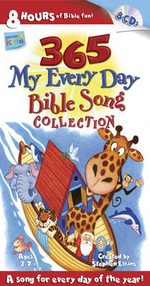 365 My Every Day Bible Song Collection : Wonder Kids: Music - Stephen Elkins