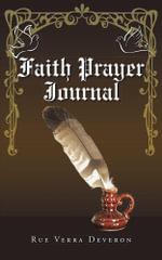 Faith Prayer Journal - Rue Verra Deveron