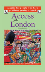 Access in London (POD Version) : A guide for people who have problems getting around - Gordon Couch OBE
