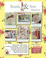 Bustle & Sew Magazine April 2014 : Issue 39 - Helen Dickson