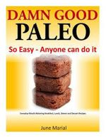 Damn Good Paleo : So Easy - Anyone Can Do It: Everyday Mouth Watering Breakfast, Lunch, Dinner and Dessert Recipes - June Marial