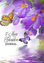 5 Year Garden Journal : Purple Crocus (Diary, Notebook) - Cheryl Casey