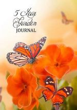 5 Year Garden Journal : Orange Pansy (Notebook, Diary) - Cheryl Casey