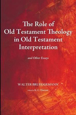 The Role of Old Testament Theology in Old Testament Interpretation : And Other Essays - Dr Walter Brueggemann