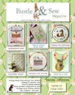 Bustle & Sew Magazine July 2014 : Issue 42 - Helen Dickson