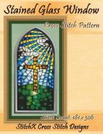 Stained Glass Window Cross Stitch Pattern - Tracy Warrington