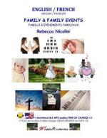 English / French : Family & Family Events: Black & White Version - Rebecca Nicolini