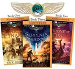 Rick Riordan's the Kane Chronicles (Bundle) : The Red Pyramid, the Throne of Fire, the Serpent's Shadow - Rick Riordan