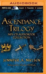 Ascendance Trilogy : The False Prince, the Runaway King, the Shadow Throne - Jennifer A Nielsen