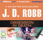 Obsession In Death : In death #40 - J. D. Robb