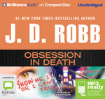 Obsession In Death (MP3) : In death #40 - J. D. Robb