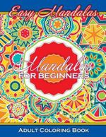 Easy Mandalas Mandalas for Beginners Adult Coloring Book - Lilt Kids Coloring Books
