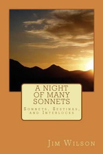 A Night of Many Sonnets : And Other Poems - Jim Wilson