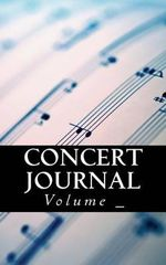Concert Journal : Sheet Music Cover - S M