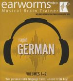 Rapid German, Vols. 1 & 2 - Earworms Learning