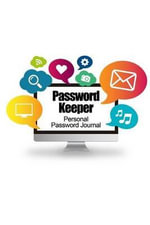 Password Keeper : Personal Password Journal (Computer Cover) - Recordkeeper Press