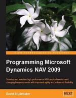 Programming Microsoft Dynamics Nav 2009 - David Studebaker